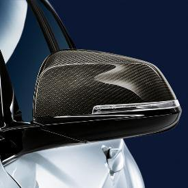 Genuine OE BMW M Performance Carbon Fiber Mirror Cap - Left