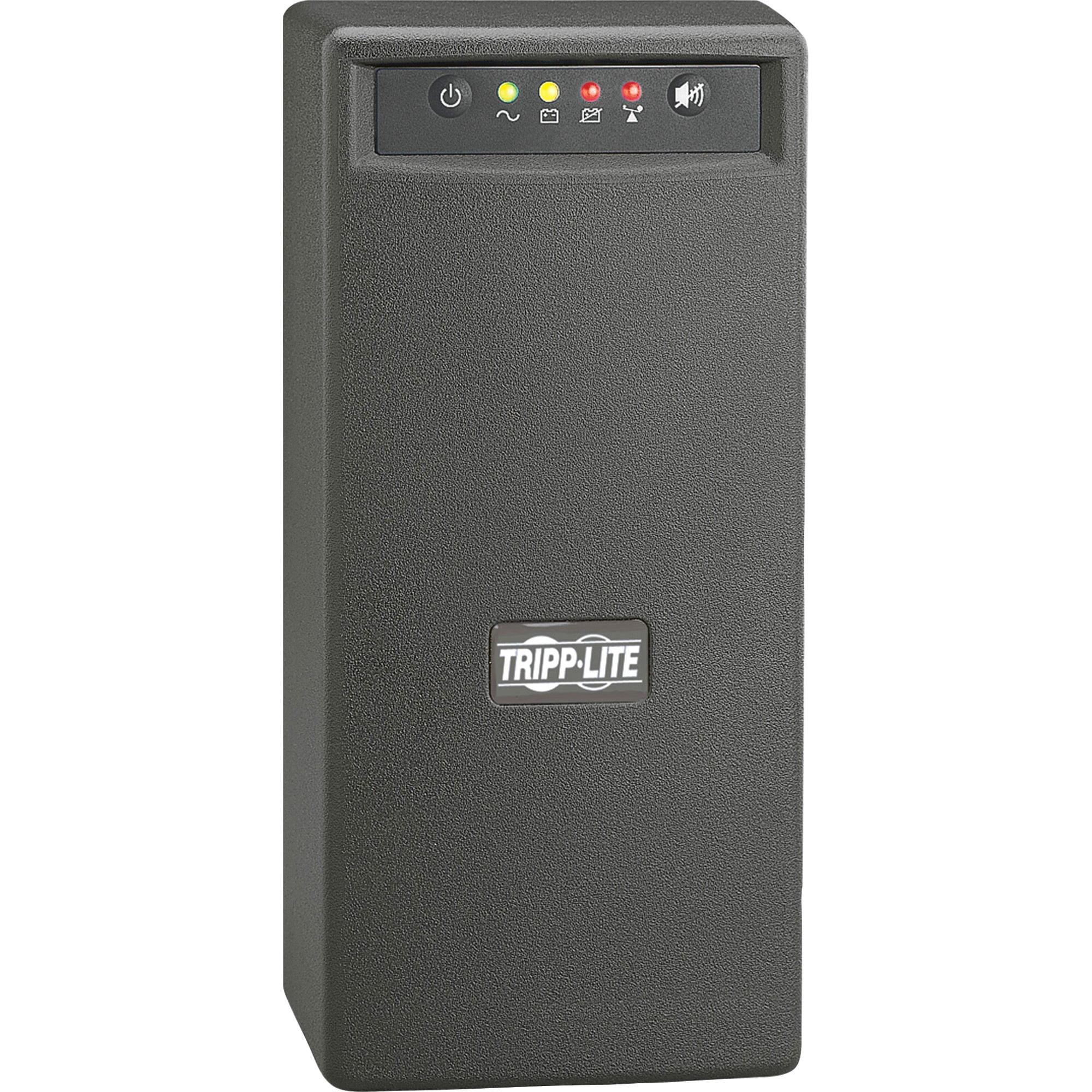 Tripp Lite UPS 1000VA 500W Battery Back Up Tower AVR 120V USB RJ45 by Tripp Lite