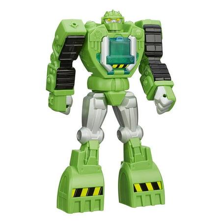 Playskool Heroes Transformers Rescue Bots Boulder Construction-Bot Figure Robot Hasbro A8306000](Hasbro Parrot)