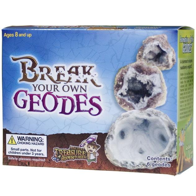Break Your Own Geodes 6 Whole Geodes