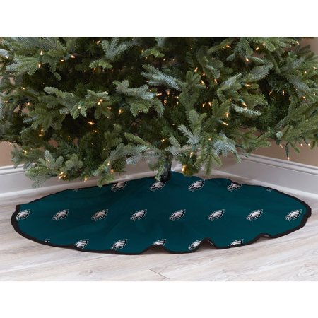 Philadelphia Eagles Christmas (Green Philadelphia Eagles Micro Plush Christmas Tree Skirt - No)