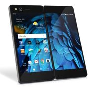 ZTE Axon M 64GB Z999 (AT&T) GSM Unlocked Dual Screen Cell Phone, Manufacturer refurbished