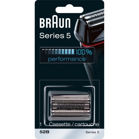 Braun Shaver Replacement Part 52 B Black - Compatible with Series 5
