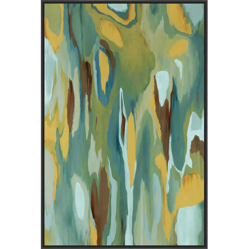 PTM Images Interplay Framed Painting Print on Canvas