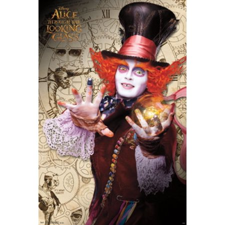 Alice in Wonderland 2 Through the Looking Glass - Mad Hatter Poster](Alice In Wonderland The Mad Hatter)