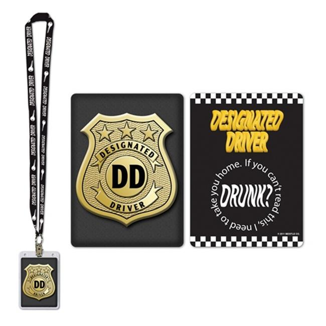 Beistle 57280 Designated Driver Party Pass - Pack of 12