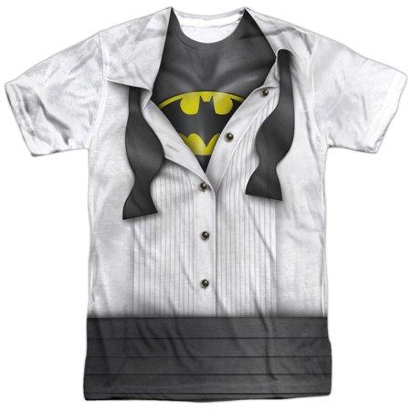 Comic Cartoon TVSeries Movie Bruce Wayne Masked Adult Front Print T-Shirt