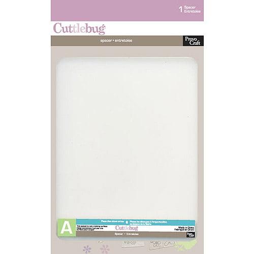 Cuttlebug Spacer, Plate A