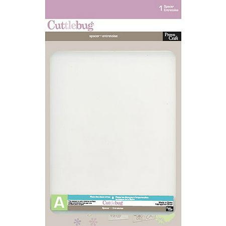 Cuttlebug Spacer, Plate A - Cuttlebug Die Cut Embossing Machine