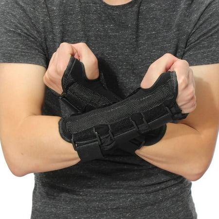 Medical Carpal Tunnel Wrist Brace Breathable Arthritis Sprain Forearm Protector Right and Left Hands Splint Support