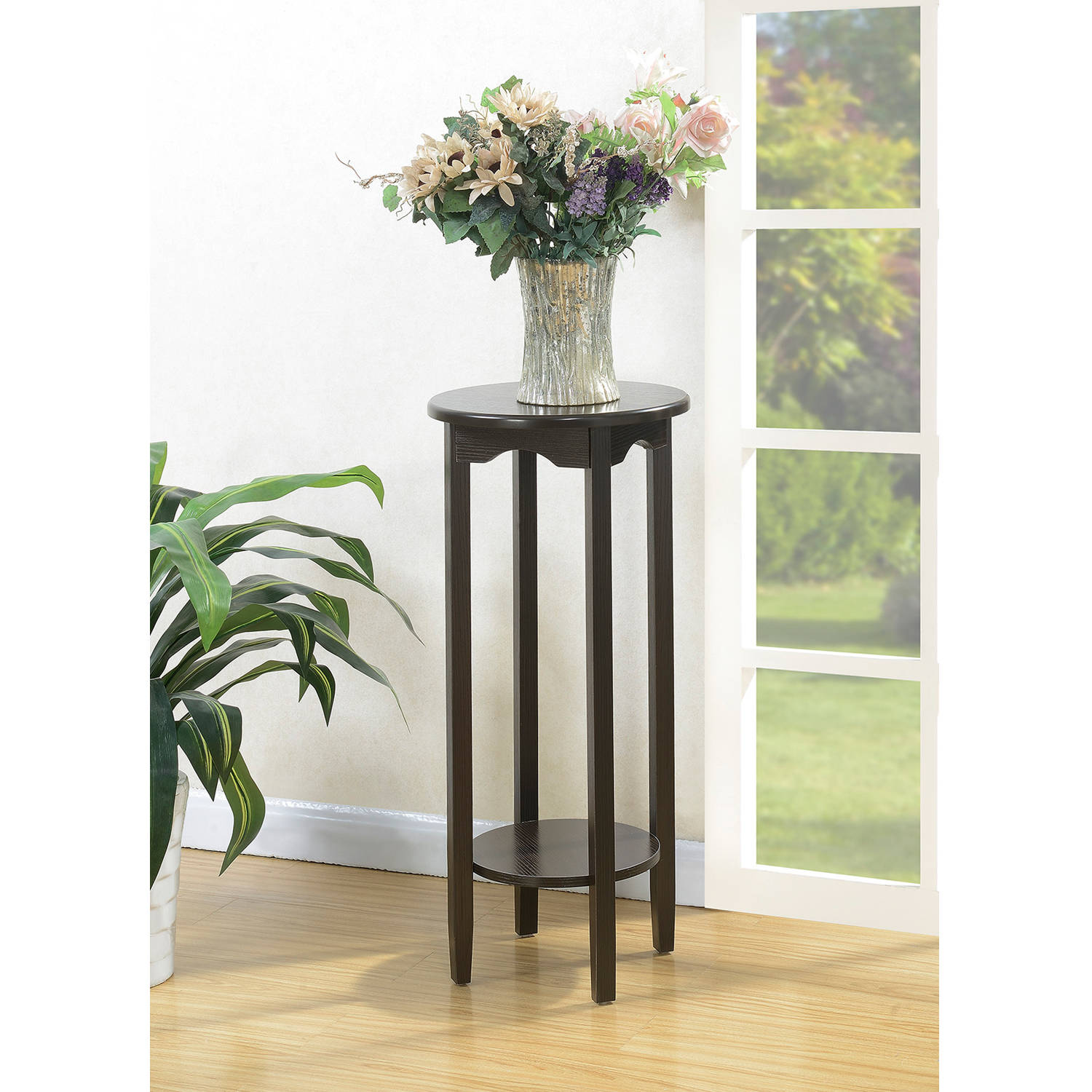 "Convenience Concepts American Heritage 31"" Round Plant Stand by CONVENIENCE CONCEPTS, INC"