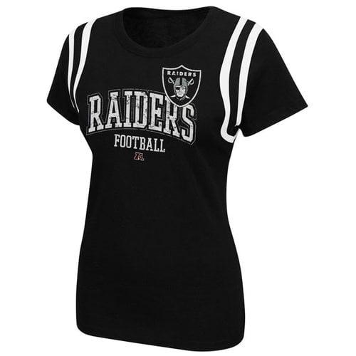 NFL - Oakland Raiders Women's Black Critical Call T-Shirt