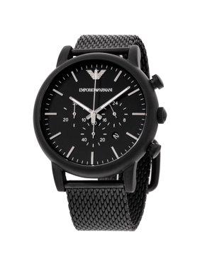 Emporio Armani Men's Chronograph Black Classic Dress Watch AR1968