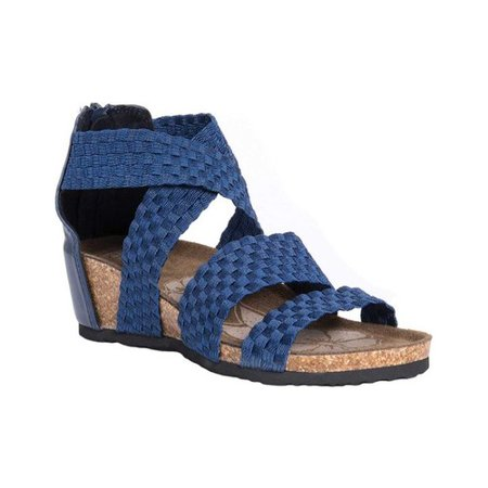 - Women's MUK LUKS Elle Wedge Sandal