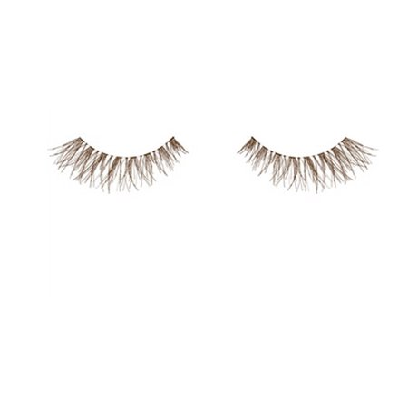 ARDELL False Eyelashes - Invisibands DEMI Wispies Brown - image 2 de 2