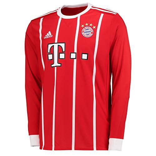 adidas FC Bayern Munich Home Long Sleeve Jersey [FCBTRU] (S ...