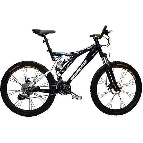 Dual Suspension Mountain Bikes Walmart >> 26 Men S Mongoose Xr Comp Dual Suspension Bike Walmart