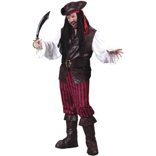 High Seas Male Buccaneer Adult Halloween Costume