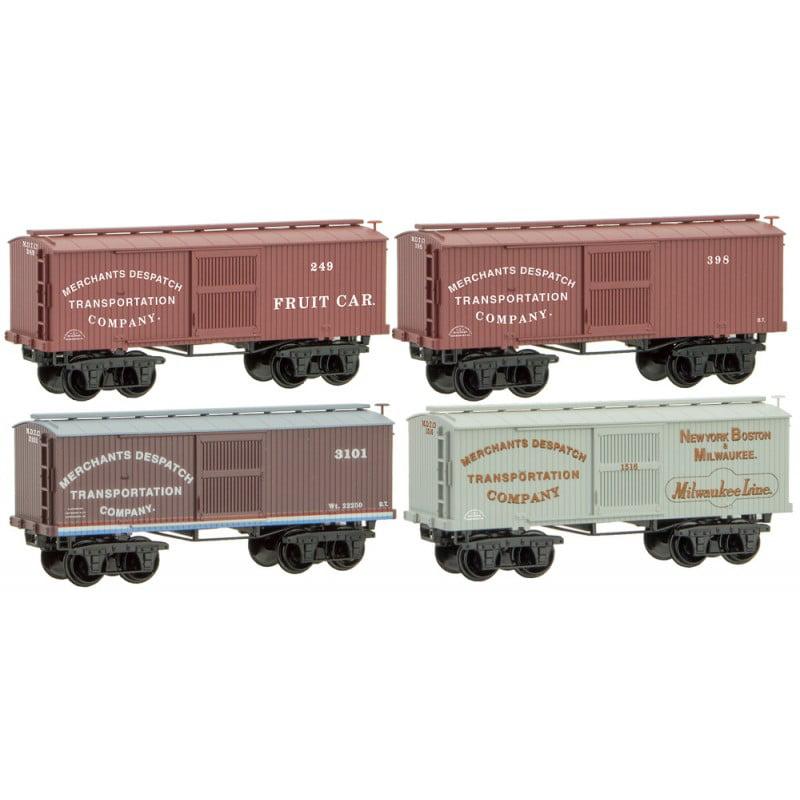Micro-Trains MTL N-Scale Civil War Era Merchants Despatch...