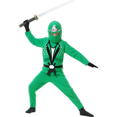 Boys Green Ninja Avengers Series Ii Cos](Halloween Css)