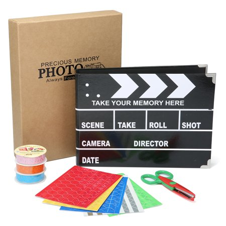 ARTISTORE SLATE Album Photo Scrapbooking with Scrapbook Storage Box As Ideal Gifts for Wedding,Valentines,Travel Book,Graduation Recording