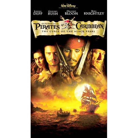 Johnny Depp Pirate Costume (Pirates of the Caribbean: The Curse of the Black Pearl (VHS, 2003) Johnny)