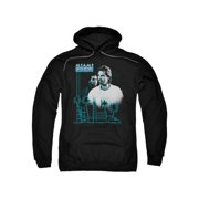 Miami Vice Crime Detective Drama TV NBC Looking Out Adult Pull-Over Hoodie