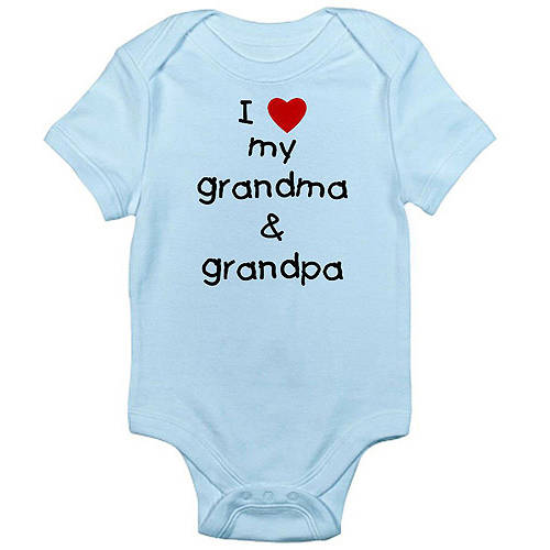 CafePress Newborn Baby Grandparents Bodysuit
