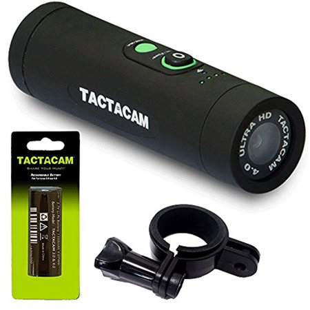Tactacam 4.0 Bow HD Wi-Fi Hunting Action Camera + FREE Head Mount & Battery