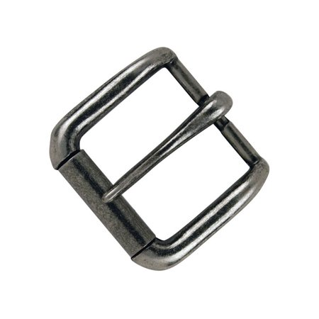 "Tandy Leather Napa Buckle 1-1/4"" (32 mm) Antique Nickel Plate 1642-21"