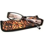 Foster Grant Women's Reading Glasses, Brown