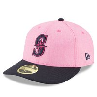 Seattle Mariners New Era 2018 Mother's Day On-Field Low Profile 59FIFTY Fitted Hat - Pink/Navy