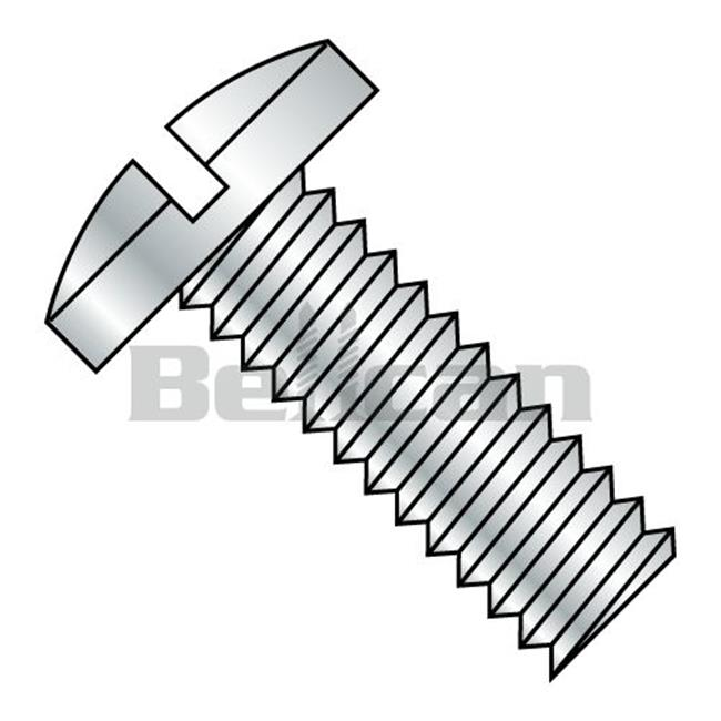 0 25 20 X 0 62 Slotted Binding Undercut Fully Threaded Machine Screw