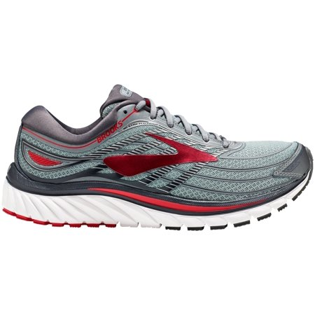 df3e908cb1f Brooks - Brooks Men s Glycerin 15 Running Shoes (Grey Red