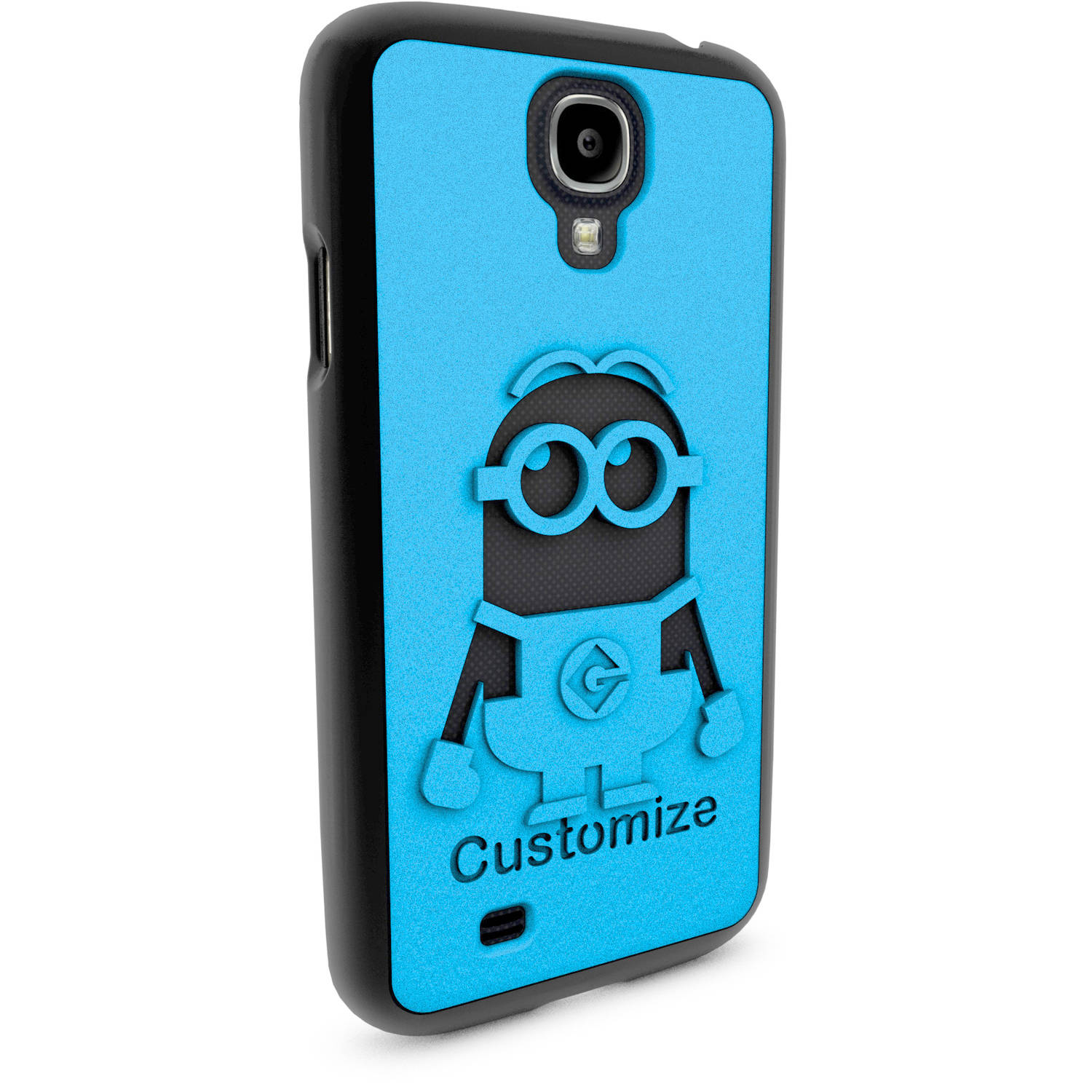 Samsung Galaxy S4 3D Printed Custom Phone Case - Despicable Me - Dave 2