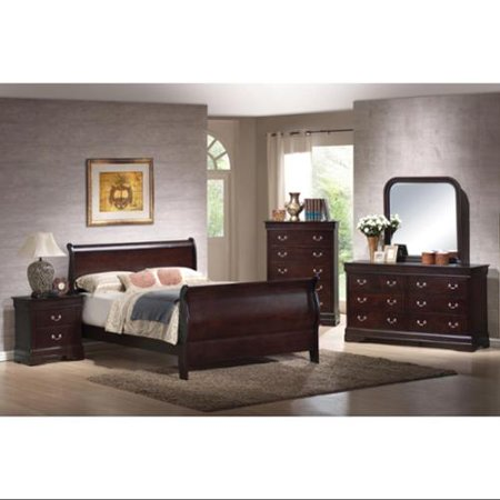 Louis Philippe 5 Bedroom Set  3167 Product Photo