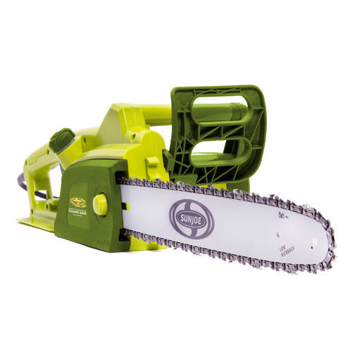 Sun Joe SWJ700E 14 Amp 16 in. Electric Chain Saw with Kickback Brake by Snow Joe / Sun Joe