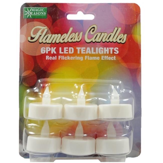 Magic Seasons 702261 LED Tealight Flameless Candles , Pack of 12 - image 1 de 1