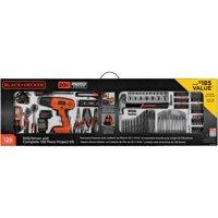 BLACK+DECKER 20-Volt Cordless Drill-Driver 128-Pc LD120128PKWM Deals