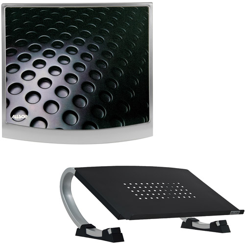 Allsop Laptop Stand with Mouse Pad