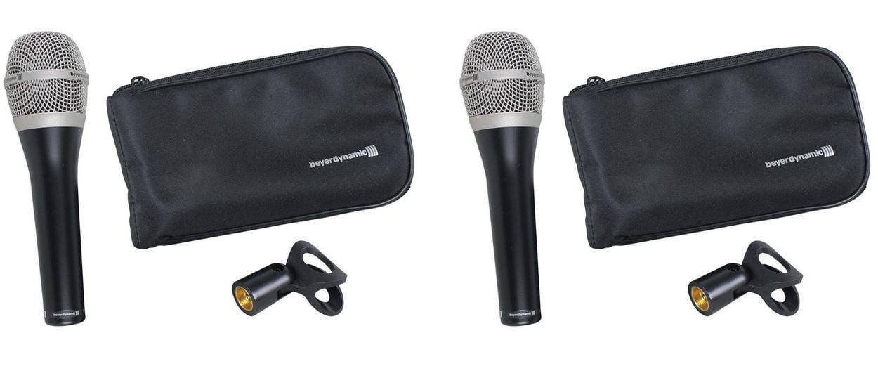 (2) Beyerdynamic TG-V50D Cardioid Dynamic Stage Vocal Microphone Mic by Beyerdynamic