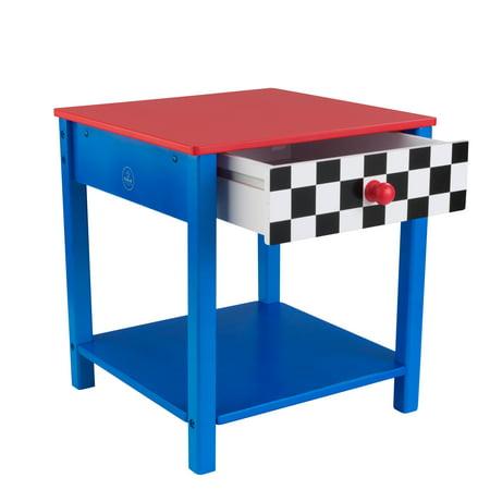 KidKraft Racecar Side Table