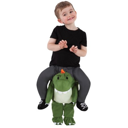 Toddler Boys Carry Me Buddy Ride On Shoulder Piggy Back T-Rex Halloween Costume