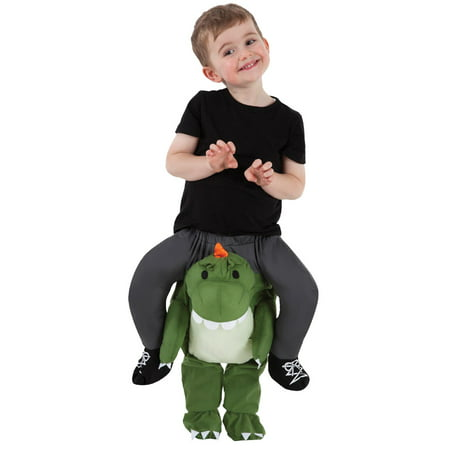 Toddler Boys Carry Me Buddy Ride On Shoulder Piggy Back T-Rex Halloween Costume (Me On Halloween)