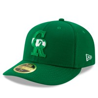 Colorado Rockies New Era 2020 St. Patrick's Day On Field Low Profile 59FIFTY Fitted Hat - Kelly Green