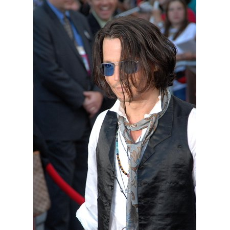 Johnny Depp At Arrivals For Pirates Of The Caribbean At WorldS End Premiere Disneyland Anaheim Ca May 19 2007 Photo By John HayesEverett Collection Celebrity