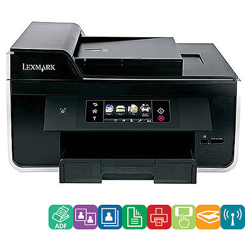 Lexmark Pro915 Wireless All-In-One (AIO) Printer/Copier/Fax Machine/Scanner w/Duplex & Network