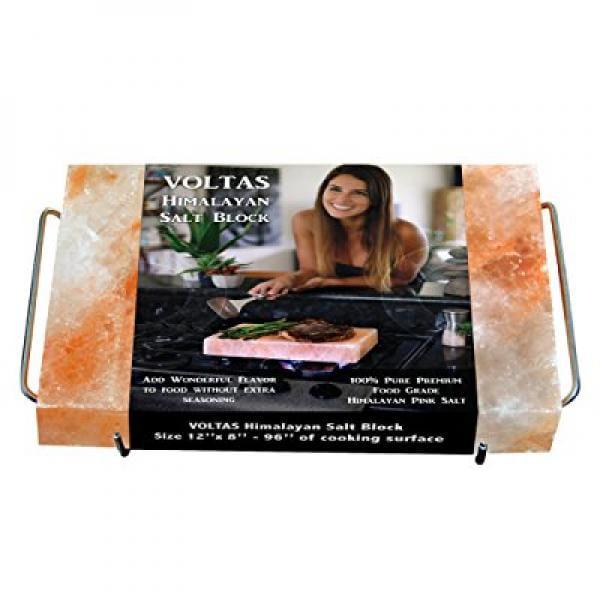 Voltas Himalayan Salt Block For Cooking, Fda Approved 12x...