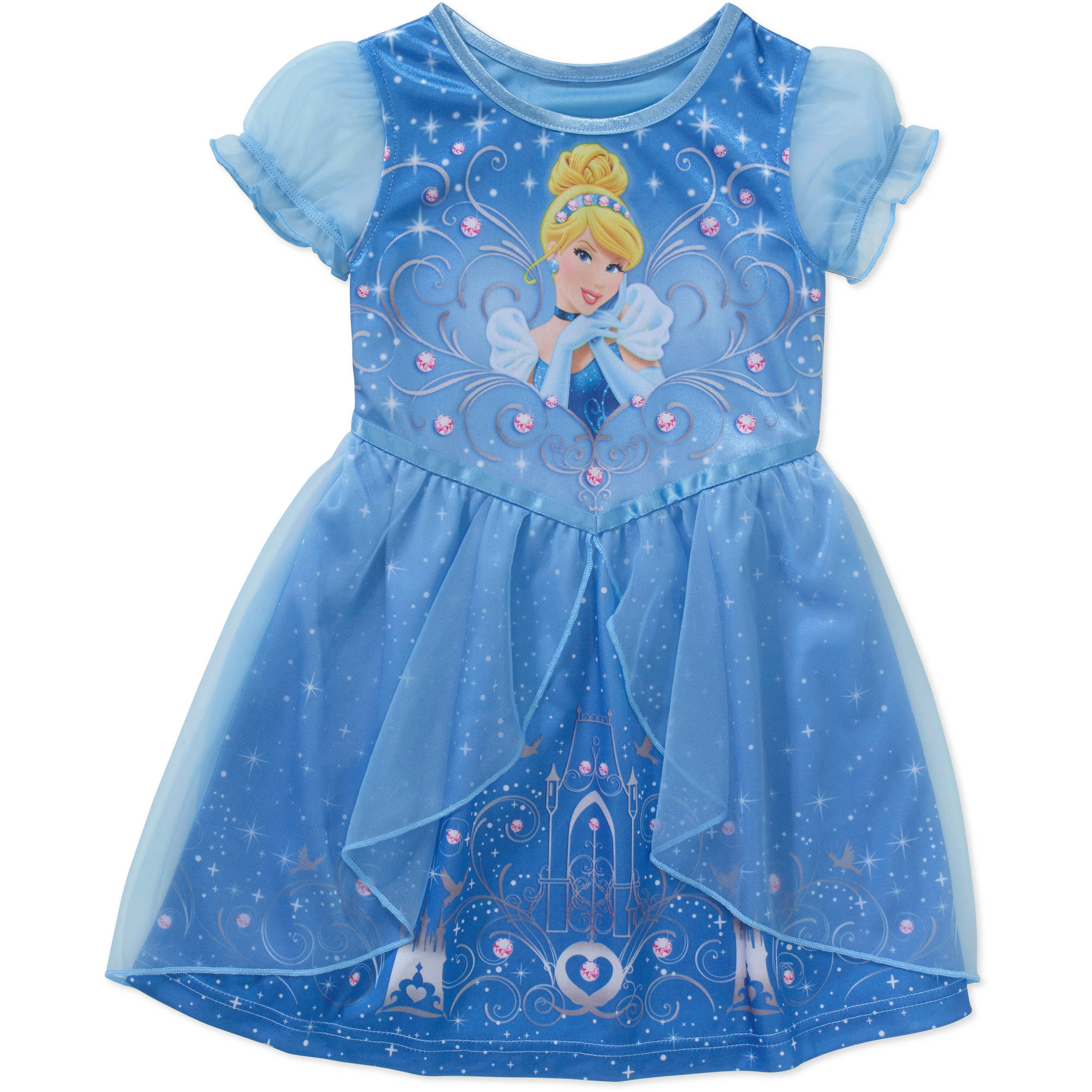 b654766da Disney Frozen - Disney Frozen Baby Toddler Girl Short Sleeve Fantasy ...