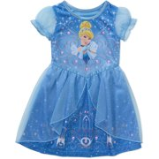 Cinderella Princess Baby toddler girl short sleeve fantasy nightgown